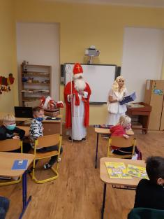 Mikuláš v naší školce i škole
