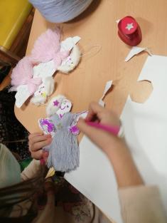 Vánoční tvoření ve školní družině
