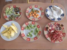 Ochutnávka exotického ovoce v 1. třídě