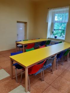 Nové vybavení školní jídelny včetně vymalování